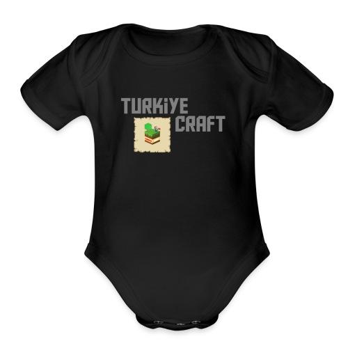 TurkiyeCraft Logo - Organic Short Sleeve Baby Bodysuit