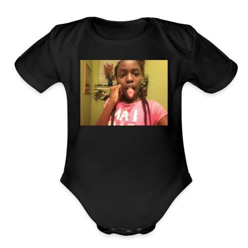 Brooklyn design - Organic Short Sleeve Baby Bodysuit