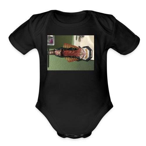 Guadalupe - Organic Short Sleeve Baby Bodysuit