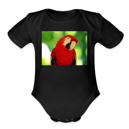 Savage merch - Organic Short Sleeve Baby Bodysuit