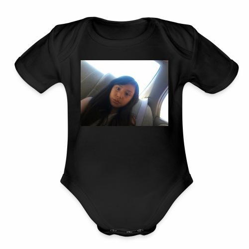 Kayleen - Organic Short Sleeve Baby Bodysuit