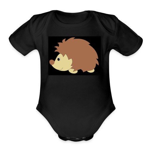 hedgehog! - Organic Short Sleeve Baby Bodysuit