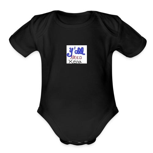 Y'all NEED Xena - Organic Short Sleeve Baby Bodysuit