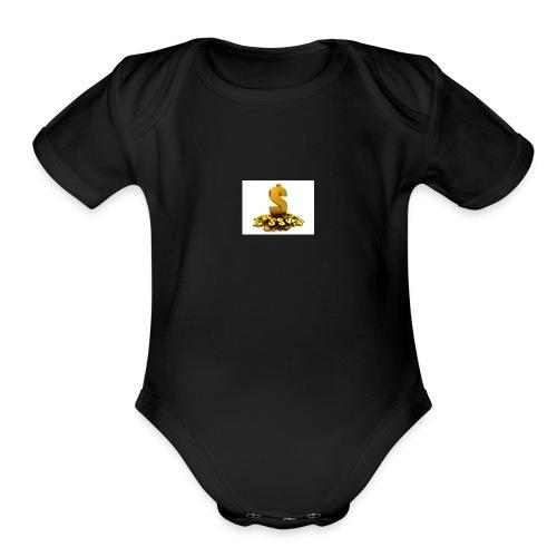 Unknown - Organic Short Sleeve Baby Bodysuit