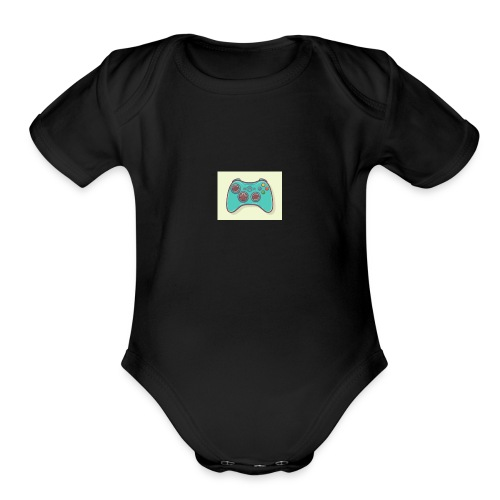 Mens Vinty Shirt - Organic Short Sleeve Baby Bodysuit