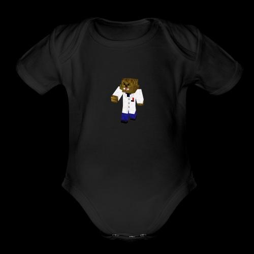 DrBaacca - Organic Short Sleeve Baby Bodysuit