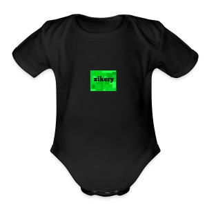 my logo merch - Short Sleeve Baby Bodysuit