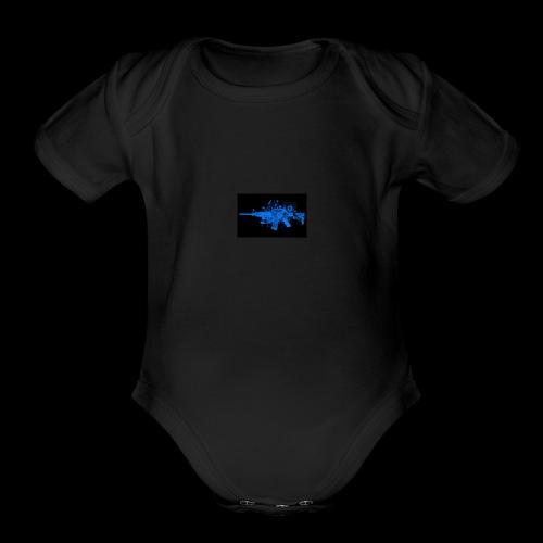 jc - Organic Short Sleeve Baby Bodysuit