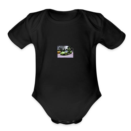 cool shert - Organic Short Sleeve Baby Bodysuit