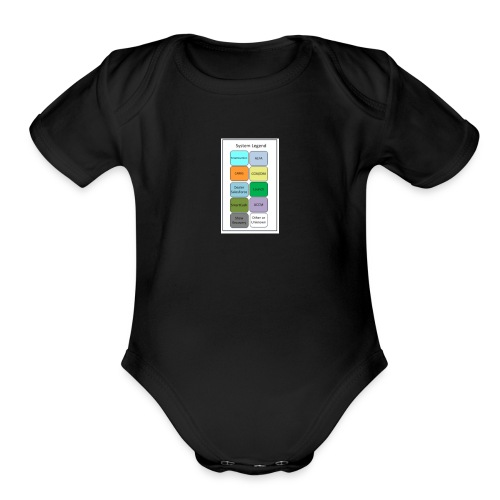 My Menu - Organic Short Sleeve Baby Bodysuit