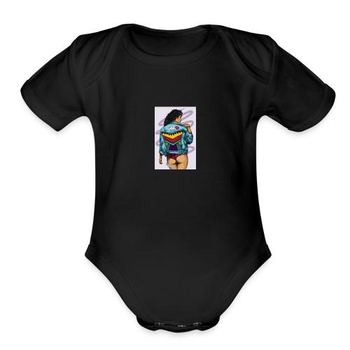 Indi babe - Organic Short Sleeve Baby Bodysuit