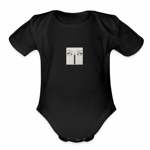 how i loke like - Organic Short Sleeve Baby Bodysuit