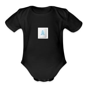 Coffee feels me - Short Sleeve Baby Bodysuit