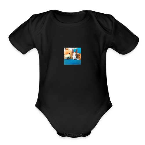 6068831f291afc86bf77f0ce407f4e04 - Organic Short Sleeve Baby Bodysuit