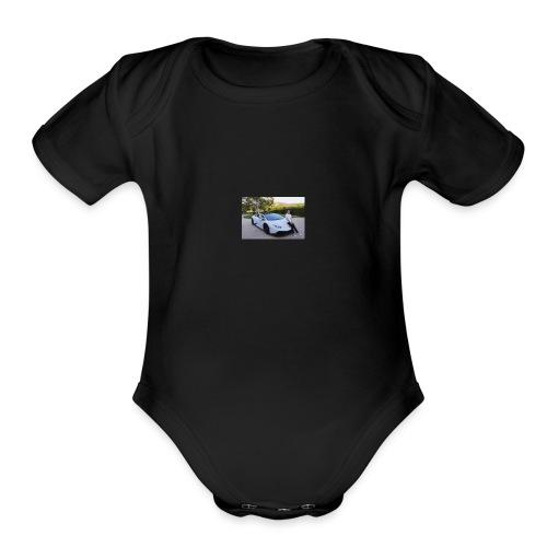 MICHOL MODE/MSQUAD - Organic Short Sleeve Baby Bodysuit