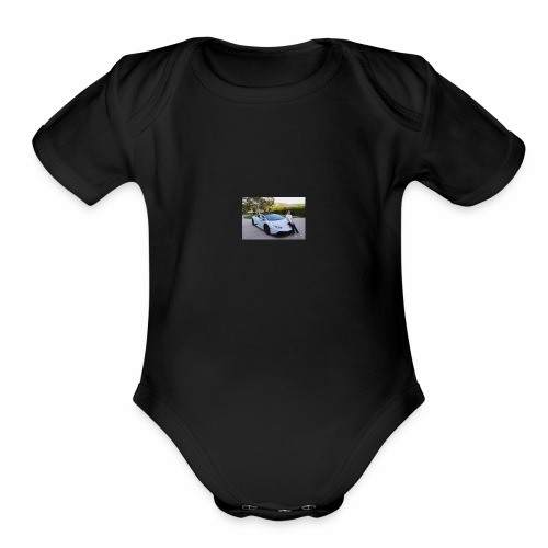 MICHOL MODE - Organic Short Sleeve Baby Bodysuit