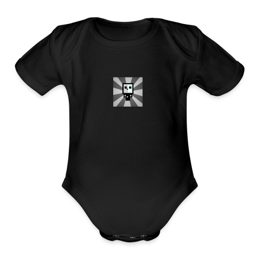 Official HyperShadowGamer Shirts - Organic Short Sleeve Baby Bodysuit
