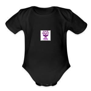 Epilepsy warrior - Short Sleeve Baby Bodysuit