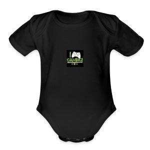 the nice - Short Sleeve Baby Bodysuit