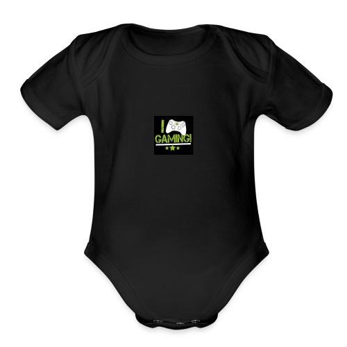 the nice - Organic Short Sleeve Baby Bodysuit