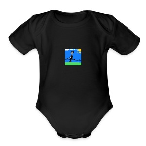 Epic Small Drawing - Short Sleeve Baby Bodysuit