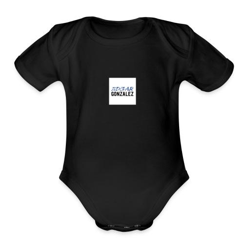 nice stuff - Organic Short Sleeve Baby Bodysuit