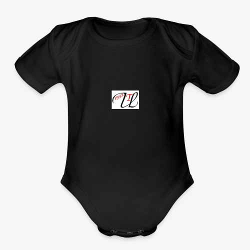 Ulla Toussaint 1932 Logo icon - Organic Short Sleeve Baby Bodysuit