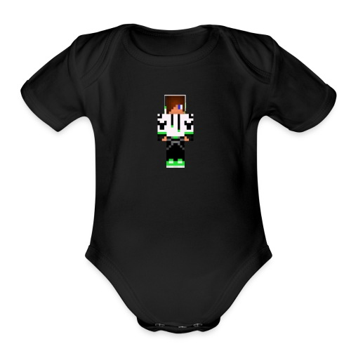 Kickster - Organic Short Sleeve Baby Bodysuit