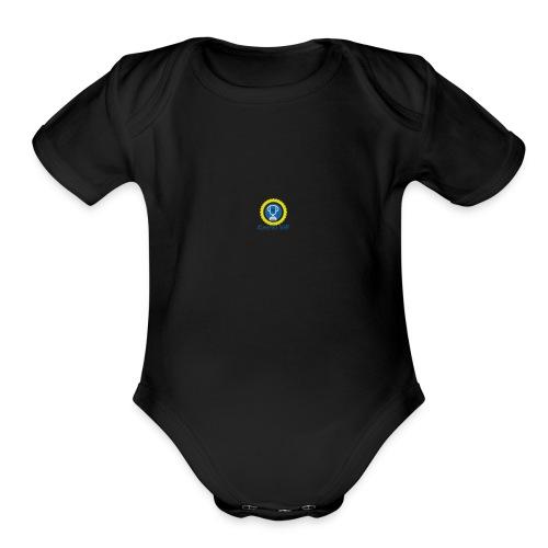 KV - Organic Short Sleeve Baby Bodysuit