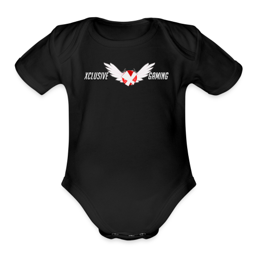 Xclusive Gaming 2 collection - Organic Short Sleeve Baby Bodysuit