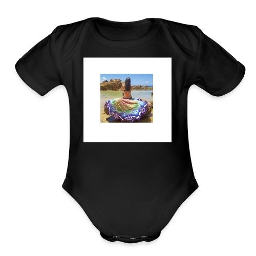 Demo - Organic Short Sleeve Baby Bodysuit