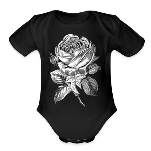 452A4F52 ECCB 478A BFFE 8AD5B11AA8CE - Organic Short Sleeve Baby Bodysuit