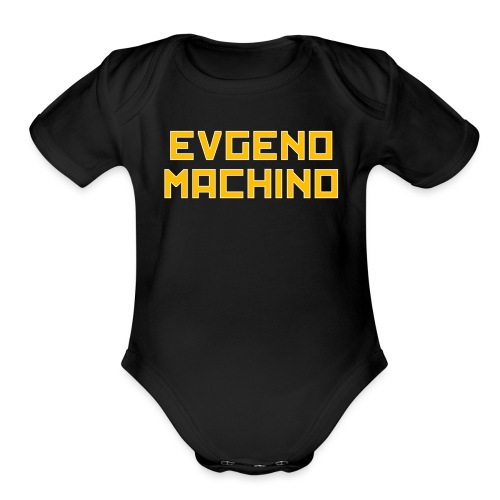 Evgeno Machino - Organic Short Sleeve Baby Bodysuit