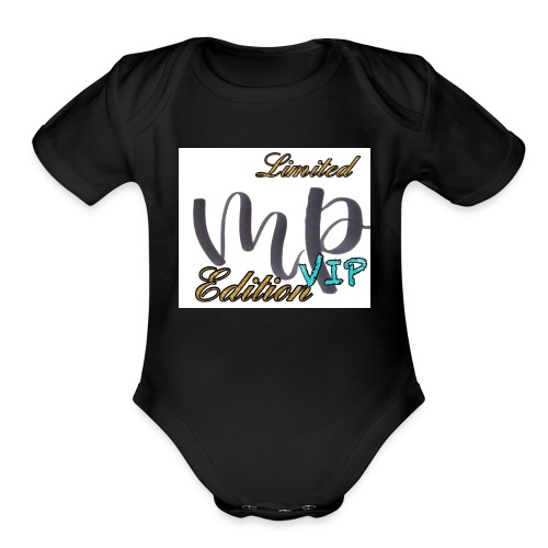 VIP Limited Edition Merch - Organic Short Sleeve Baby Bodysuit