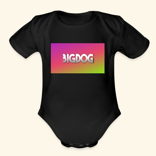 Bigdog - Organic Short Sleeve Baby Bodysuit