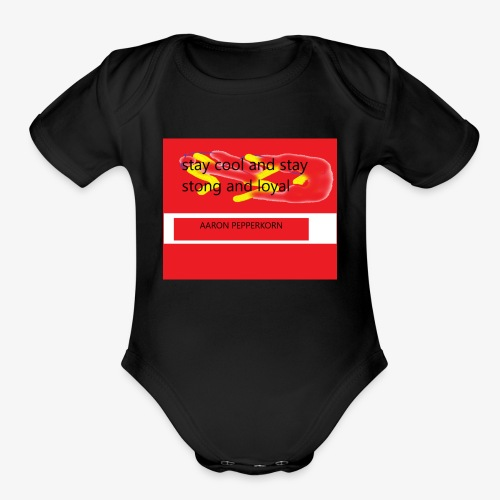 youtube - Organic Short Sleeve Baby Bodysuit