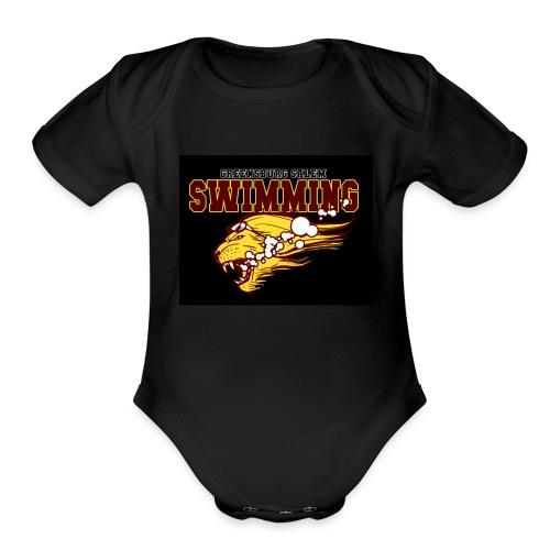 TestingGraphics - Organic Short Sleeve Baby Bodysuit