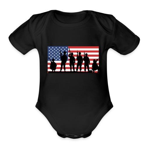 C6C93A63 545E 40FE BFB5 42370B6D303B - Organic Short Sleeve Baby Bodysuit