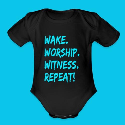 WWWR! - Organic Short Sleeve Baby Bodysuit