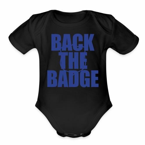BackTheBadge - Organic Short Sleeve Baby Bodysuit