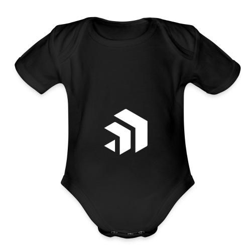 SNATCHIN' LOGO - Organic Short Sleeve Baby Bodysuit