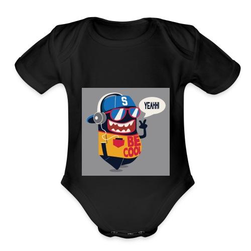 2017 tropicalgamer Cool pic - Organic Short Sleeve Baby Bodysuit
