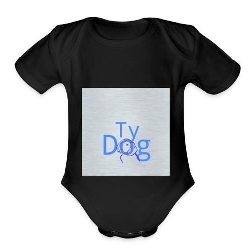 Tydog design - Organic Short Sleeve Baby Bodysuit