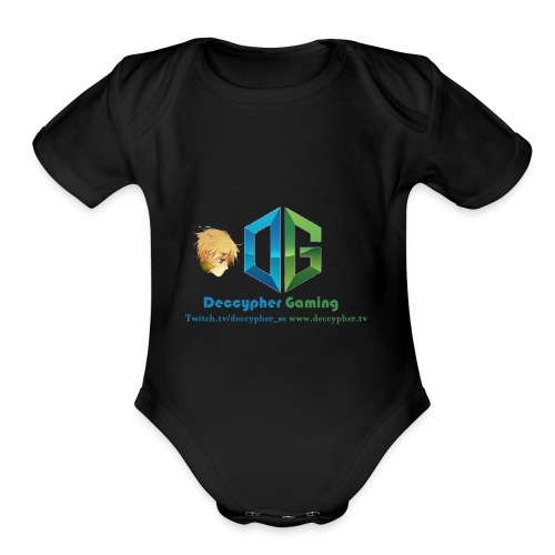 Deccypher Gaming - Organic Short Sleeve Baby Bodysuit