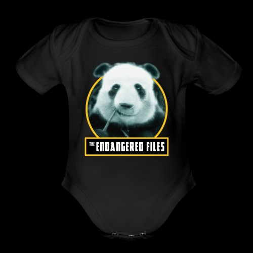 THE ENDANGERED FILES - Organic Short Sleeve Baby Bodysuit