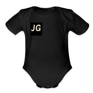 Gonzalez#1 - Short Sleeve Baby Bodysuit