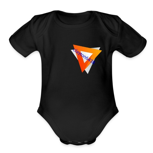 Clayton6438 the cool merch - Organic Short Sleeve Baby Bodysuit