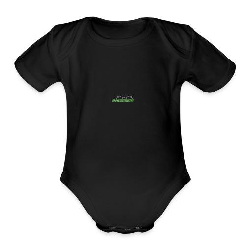 BrokeTillYesterday - Organic Short Sleeve Baby Bodysuit