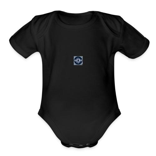 T1A1O - Organic Short Sleeve Baby Bodysuit