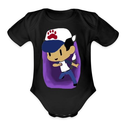 Pyrovenom Original Avatar - Organic Short Sleeve Baby Bodysuit